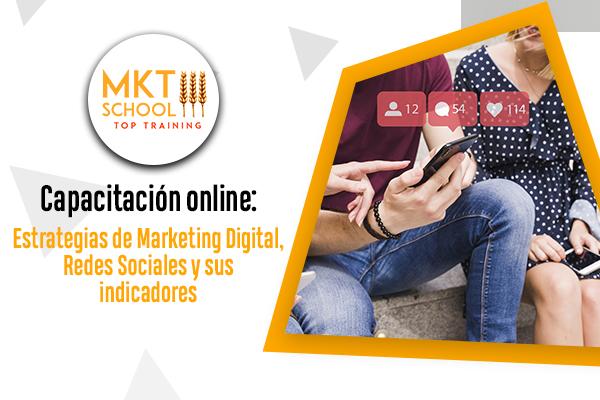 Estrategias en Marketing Digital, Redes Sociales y sus Indicadores